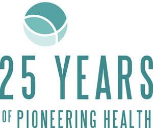 Skretting health feeds anniversary logo
