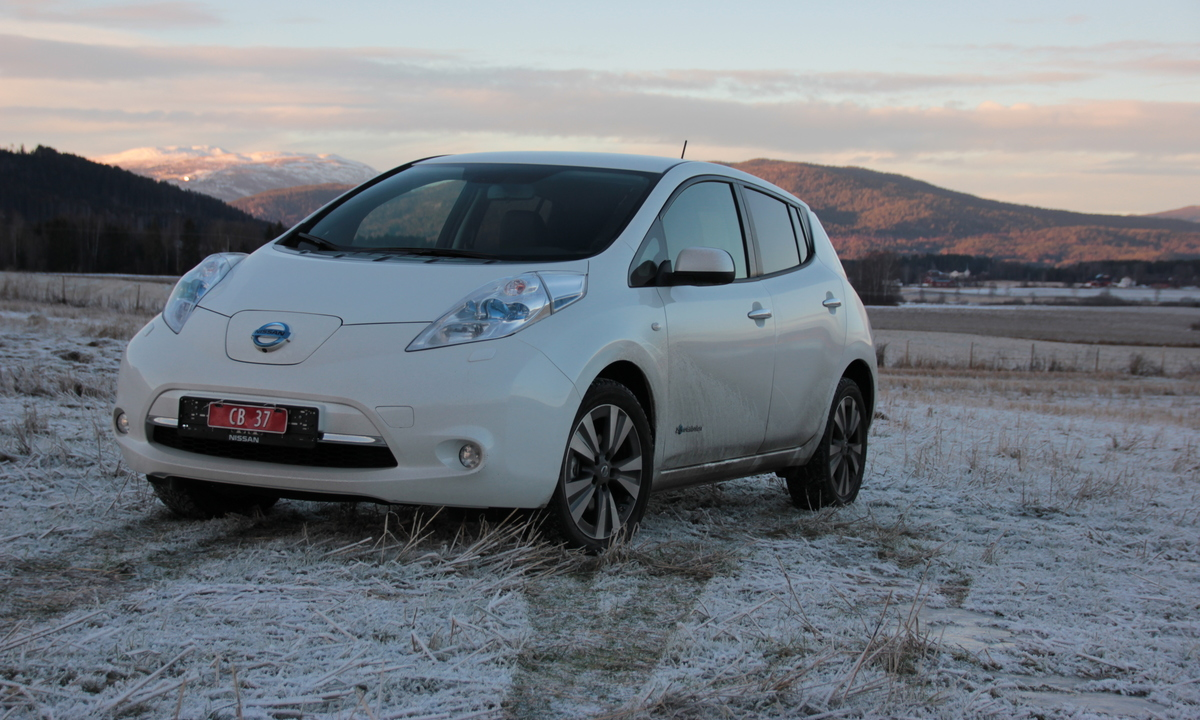 test av nissan leaf 30 kwh en klar forbedring norsk elbilforening. Black Bedroom Furniture Sets. Home Design Ideas