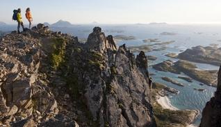 Vandring langs Kystriksveien - Foto: Terje Rakke