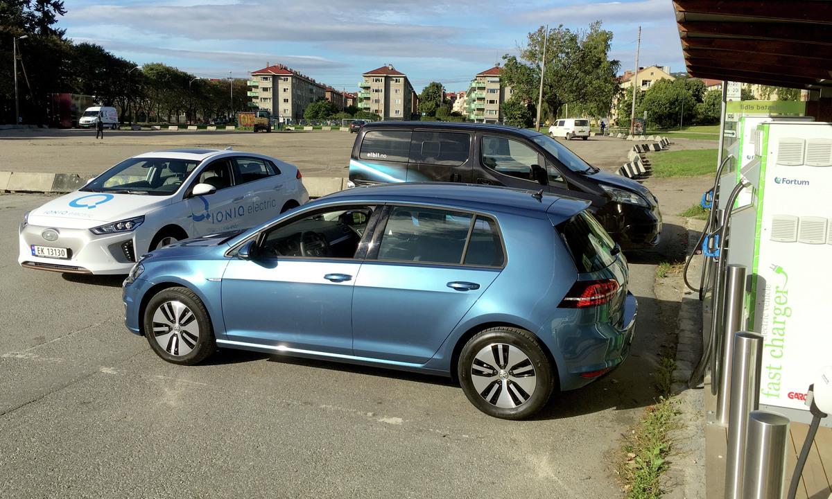 Test av Volkswagen e-Golf: Helt klart blant de mest effektive | Norsk  elbilforening