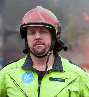Terje Hagelund, fagsjef ved Sikkerhetssenteret. Foto: If/Sigmund Clementz