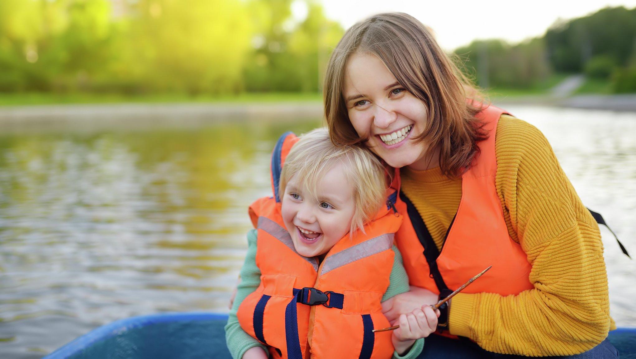 Flytväst för barn och vuxna