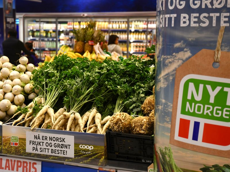 Tidenes største Nyt Norge-kampanje i Coop-butikker