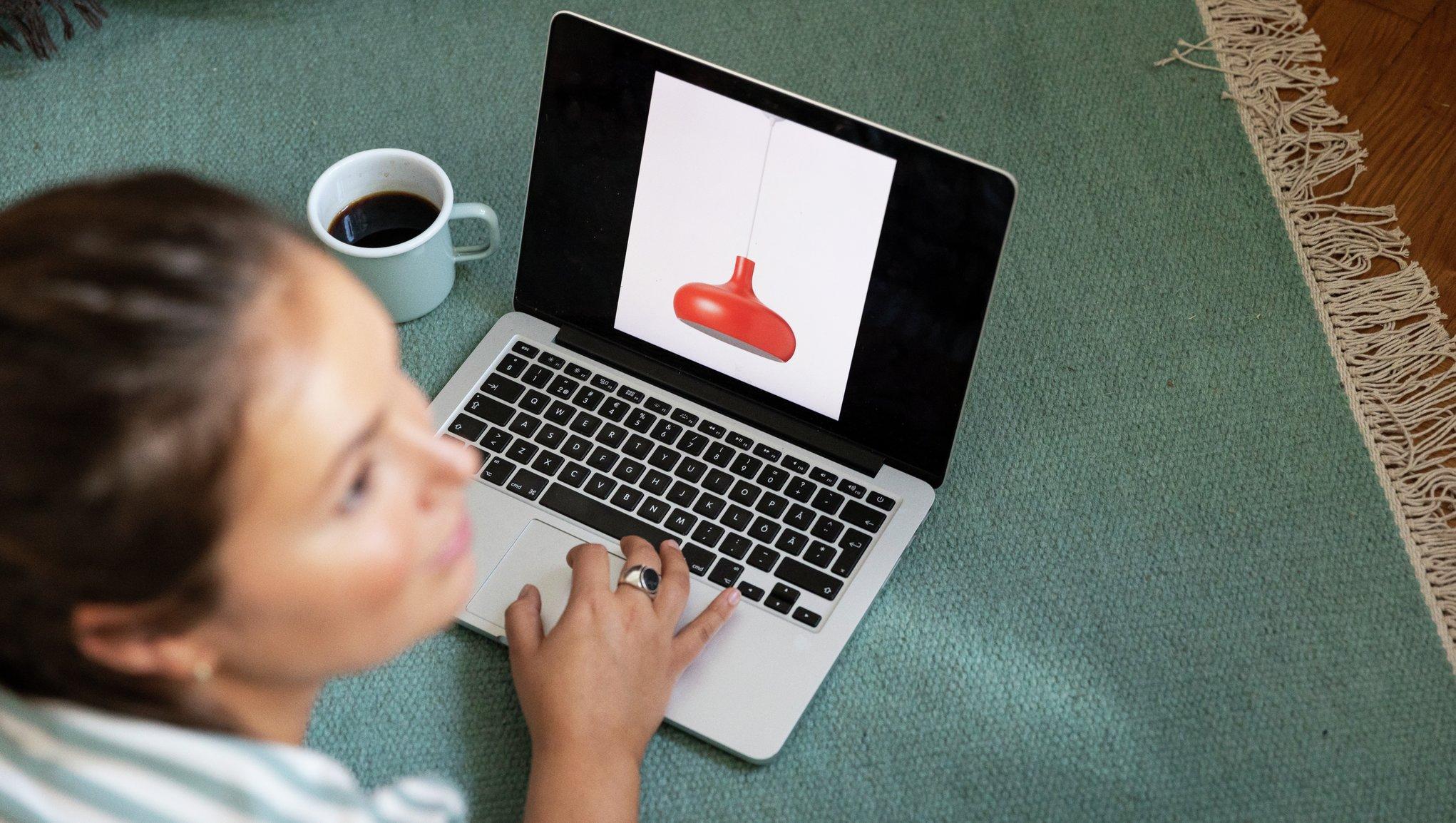 Googlar röd lampa