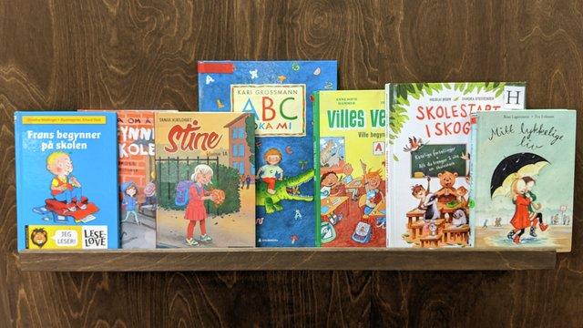 bøker om skolestart