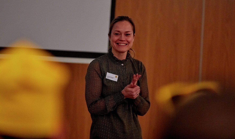 Rekrutteringssjef Annette Strøno.
