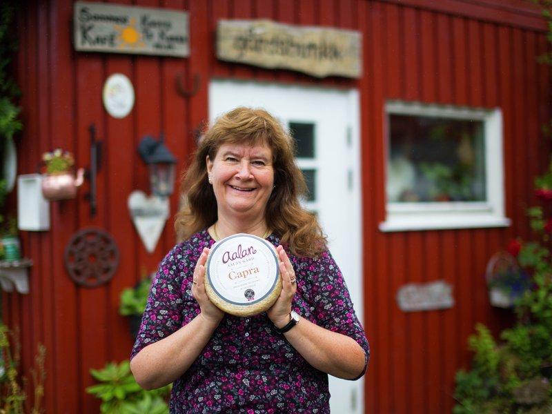 En prisbelønnet geitost fra Lofoten