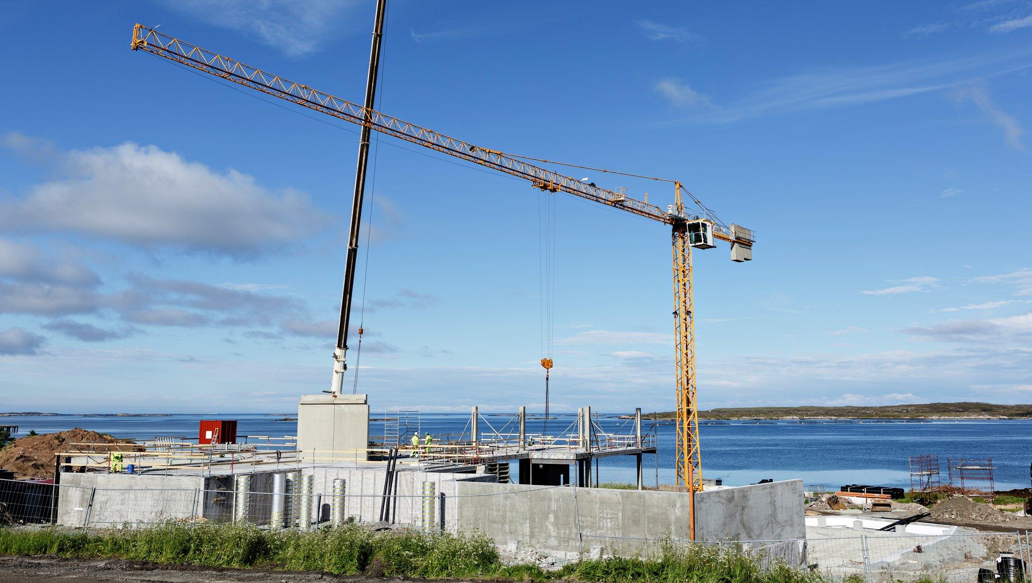 Bygge- og anleggsvirksomhet