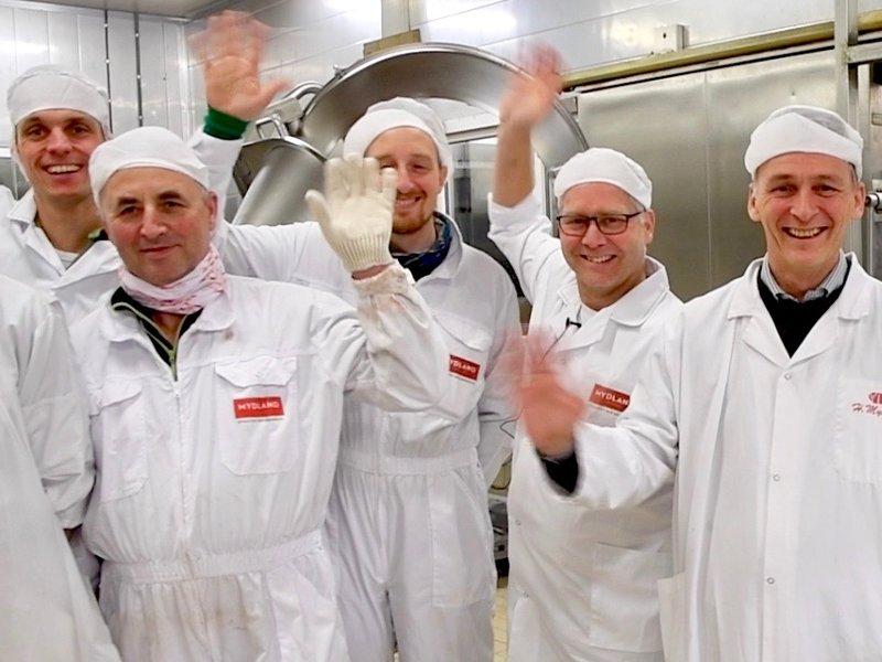 Glade ansatte på Mydland i Tromsø