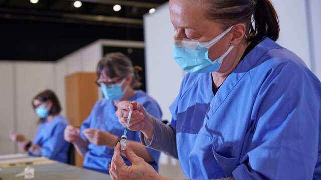 Vaksinering Covid 19 Norges Varemesse