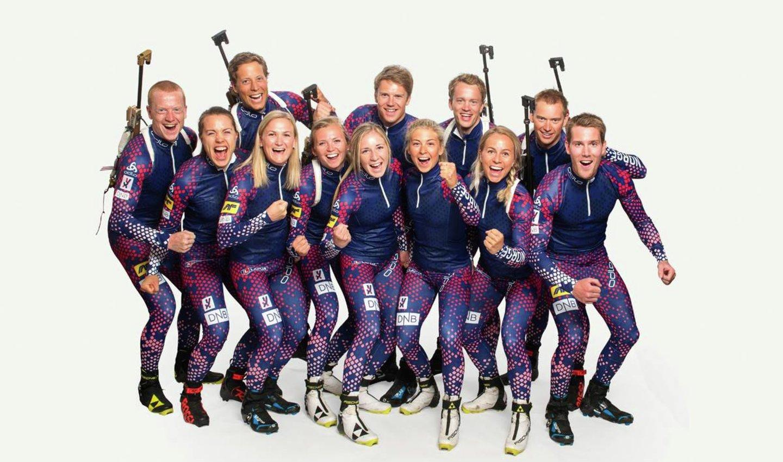 Skiskyting AF Gruppen sponsor