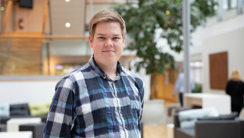 Alf Helge Jakobsen, .NET trainee i IT