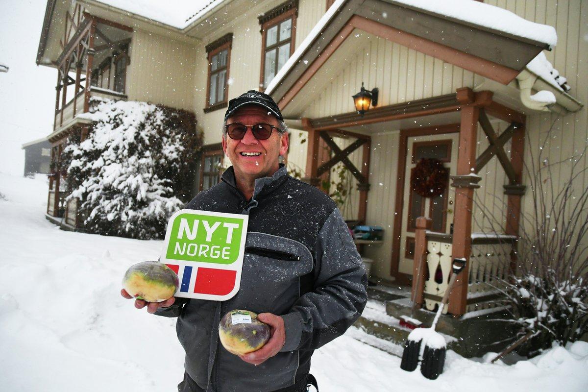 Johannes Dyste har dyrket kålrot siden 1974, mens er fortsatt like begeistra for den runde, sunne boma. Han har mange kålrottips!