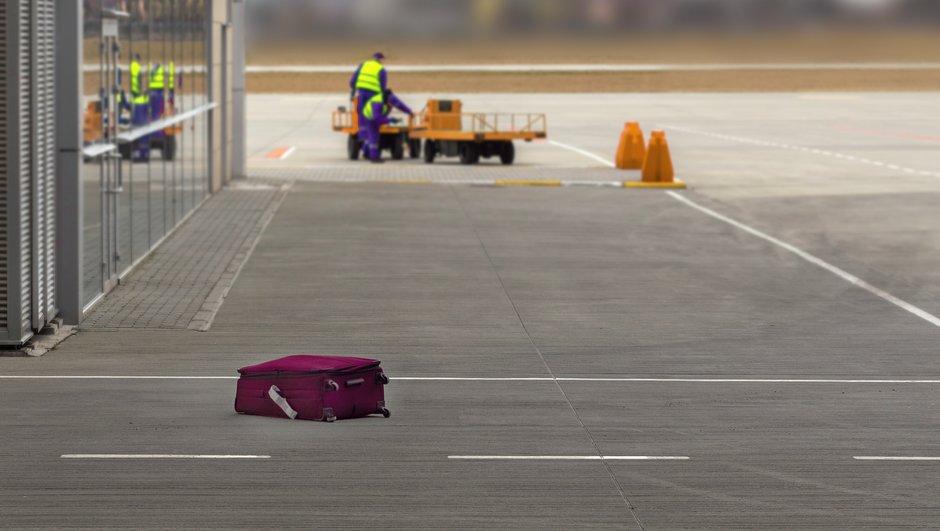 Mistet bagasje på flyplass