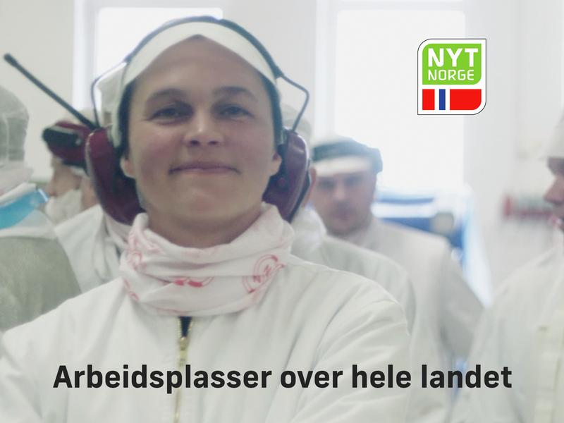 Matindustrien er en av de største fastlandsindustriene i Norge