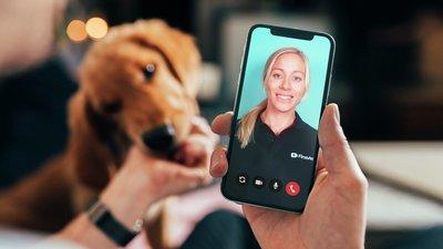 veterinär i mobilen