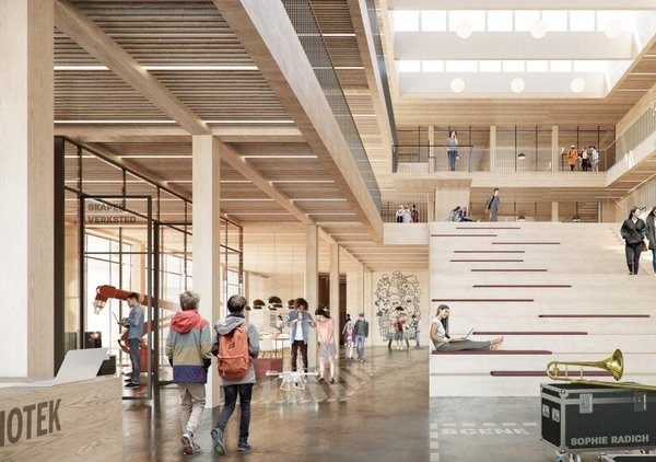 Arkitema Architects og Kruse Smith.