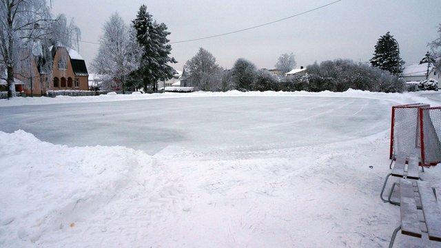 St. Sunnivas plass isflate