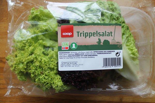 Feilmerket salat med Nyt Norge hos Coop
