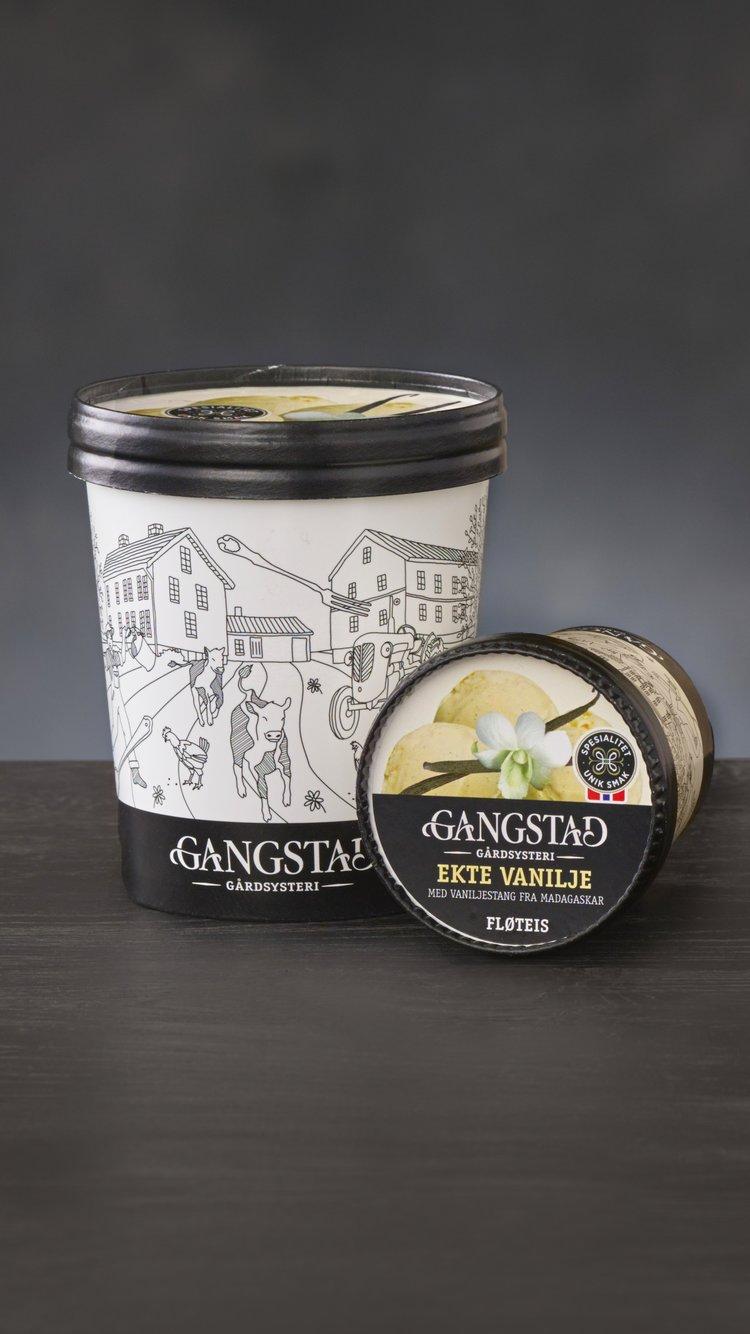 Gangstad Vanilje iskrem. Foto: Lisa Westgaard