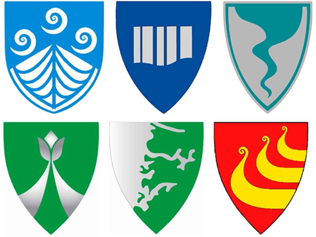 Folkejuryen sine ti favorittar til nytt fylkesvåpen.
