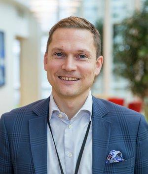 Marius Duffaut, ansvarlig for bilforsikring i If. Foto: Anders Rikstad/If