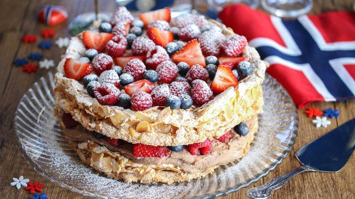 Dette er kaken du skal bake til 17. mai