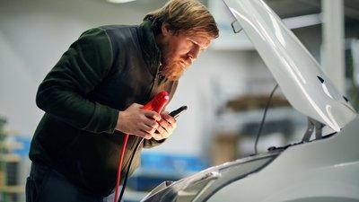 Kontakt oss ved kjøretøyskade
