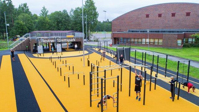 Lillestrøm treningspark