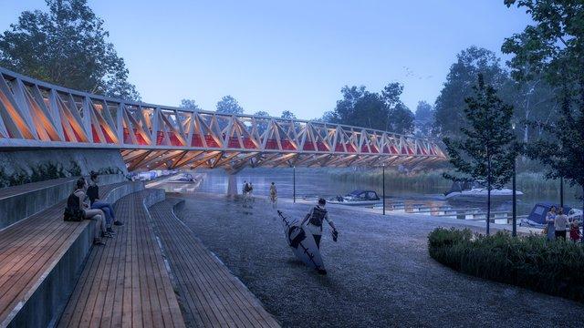 Skjærvabuen bro