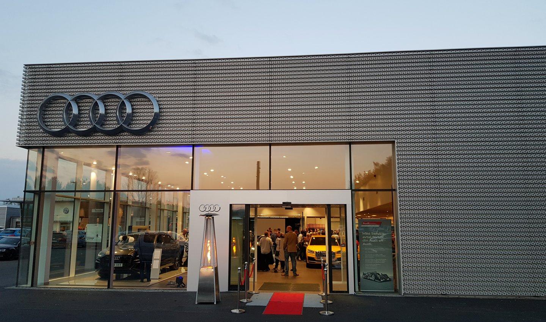 Ny Audihall i Skövde