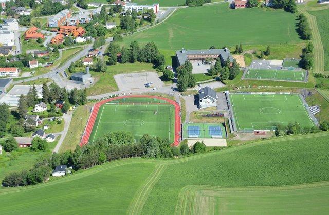 Gran ungdomsskole og Gran idrettspark sommer 2016