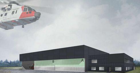 Ny helikopterbase på Ørlandet