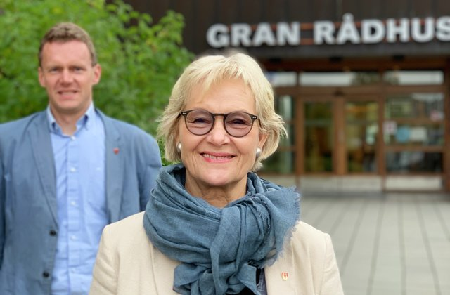 Ordfører og varaordfører - portrettbilder høst 2020