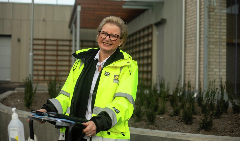 -Kjøp av ny bolig er for mange den største investeringen i livet. Vår oppgave er å sørge for at de føler seg velkommen og godt ivaretatt, sier Eva Munthe-Kaas.