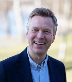 Jon Berge, informasjonsdirektør i forsikringsselskapet If. Foto: If