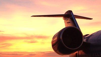 Flygplansmotor