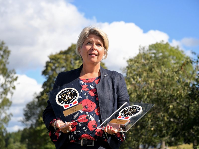 Nina Sundqvist med Spesialitet-merket