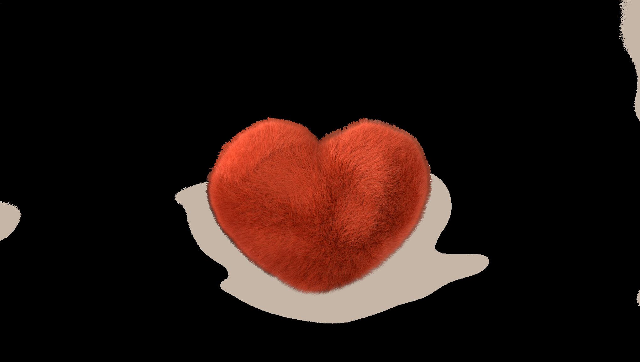 Rødt hjerte