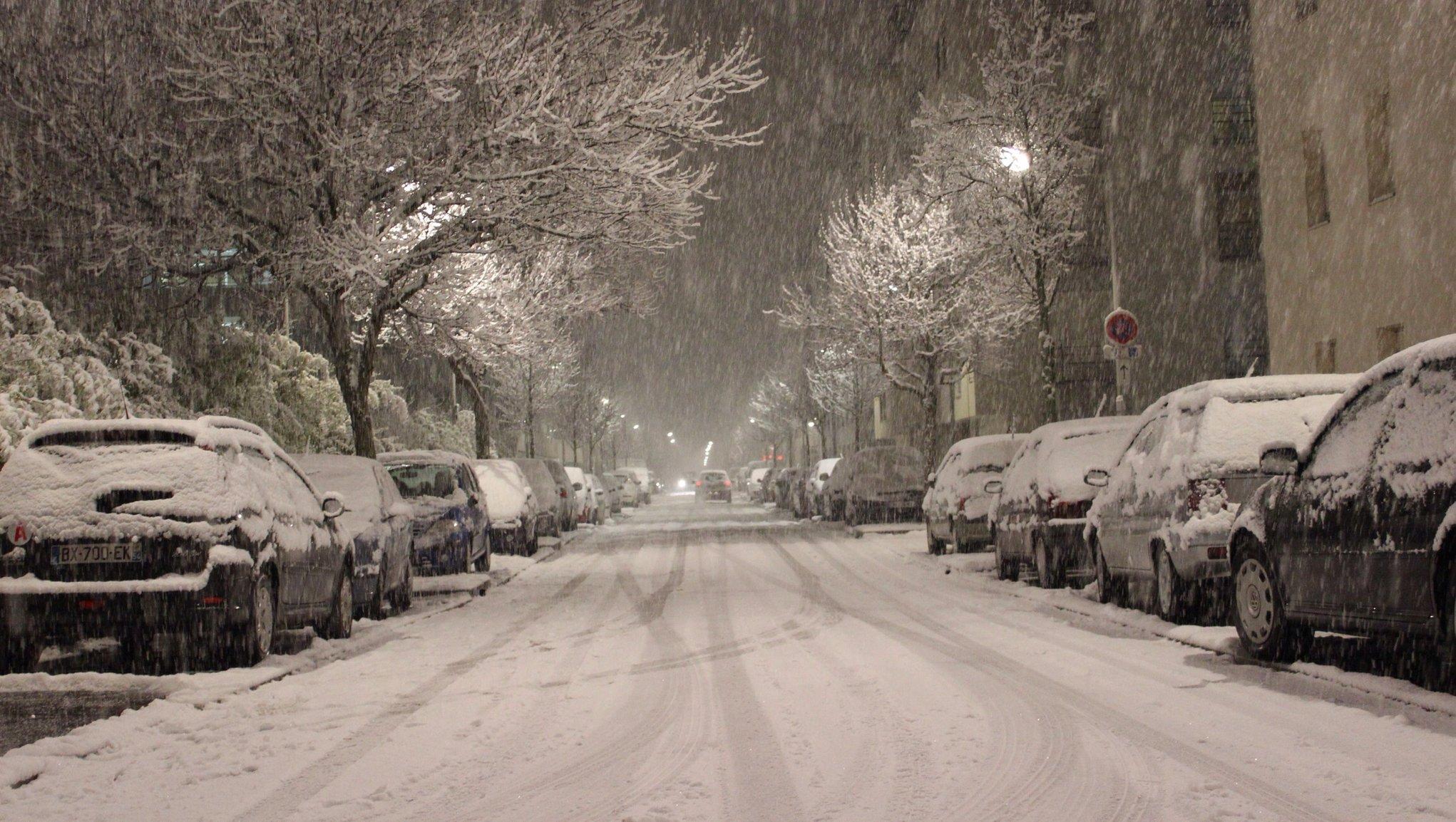 Vinterrusta bilen
