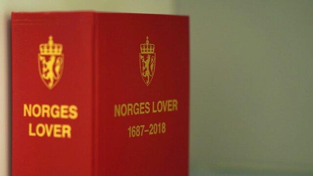 Illustrasjon av Norges lover