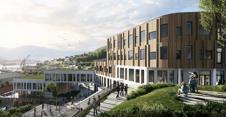 Nye Holen skole i Bergen