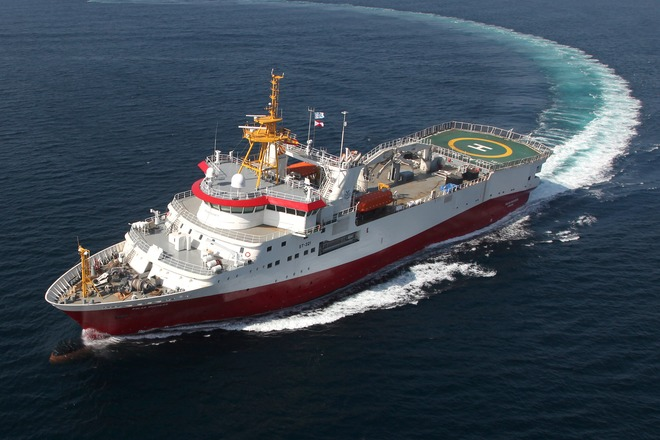Polar Duchess seismic vessel