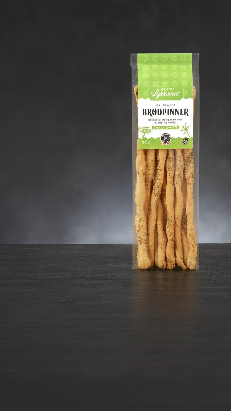 Brødpinner fra Lykkeland. Foto: Lisa Westgaard