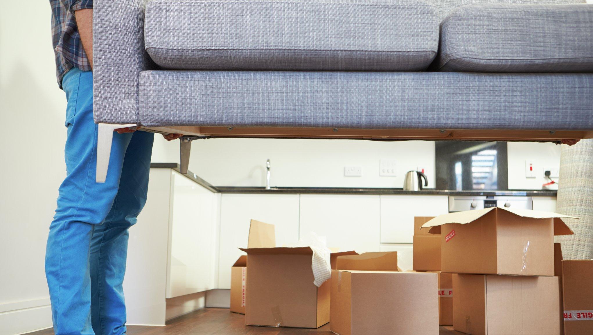 Flytta soffan
