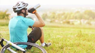 cykel och cyklist