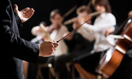 Orkester. Foto: Mostphotos.