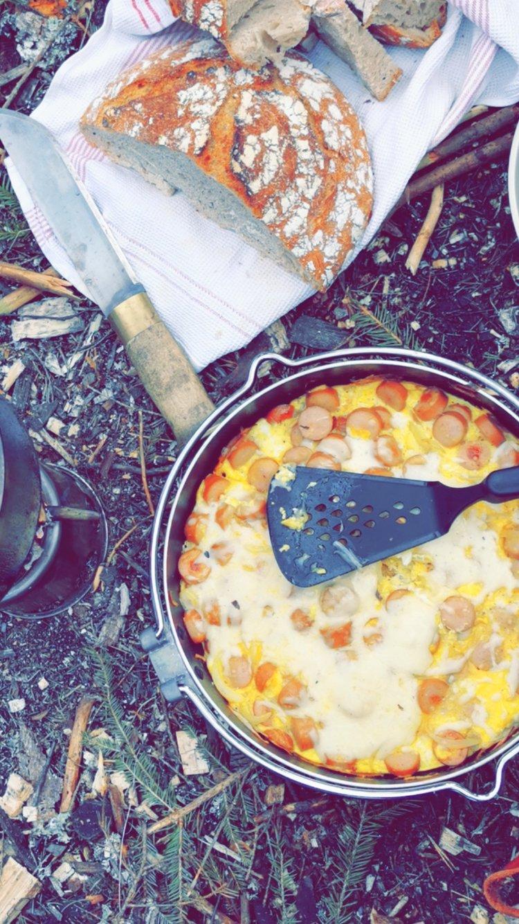 Omelett på tur