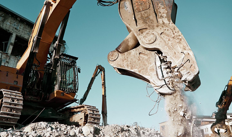 AF Decom riving av betongkonstruksjon