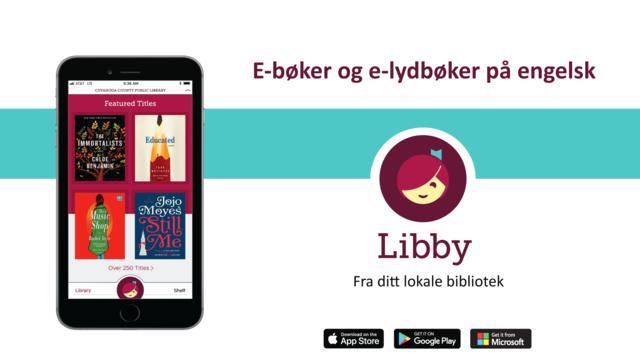 Libby engelske ebøker